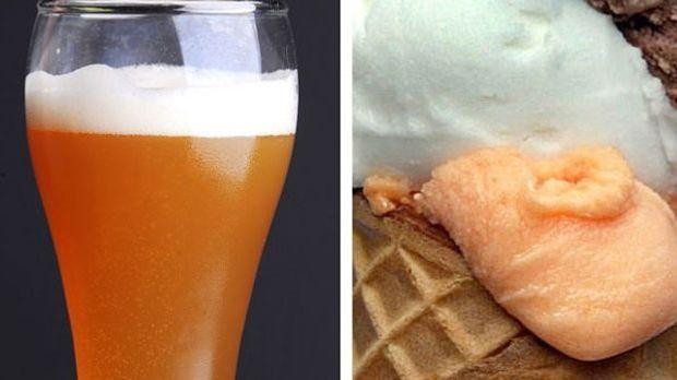 Unbedingt probieren: Eis mit Biergeschmack