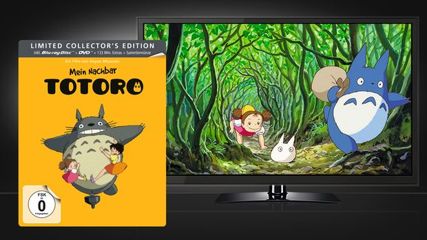Mein Nachbar Totoro - Limited Steelbook Edition (Blu-ray + DVD) © Universum F...