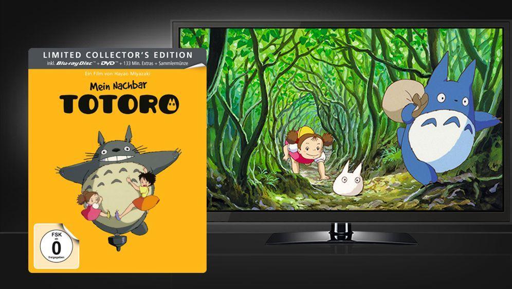 Mein Nachbar Totoro - Limited Steelbook Edition (Blu-ray + DVD) - Bildquelle: Universum Film Home Entertainment