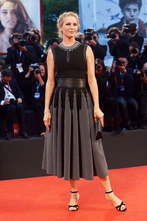 Uma -Thurman-14-09-01-Venedig-Filmfestival-AFP - Bildquelle: AFP / TIZIANA FABI