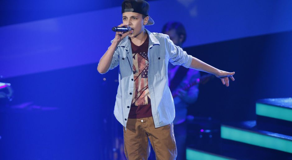 The Voice Kids Video Lukas Cant Hold Us Sat1