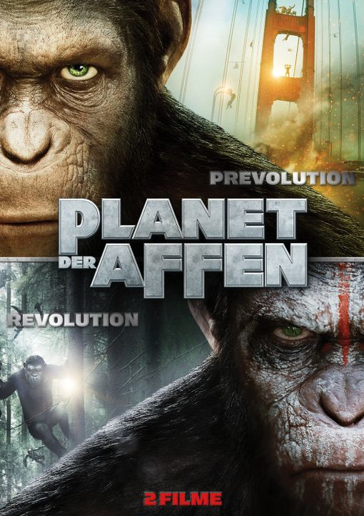 PLANET DER AFFEN: REVOLUTION - Plakat - Bildquelle: 2014 Twentieth Century Fox Film Corporation.  All rights reserved.