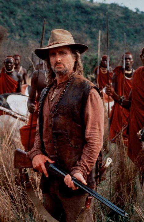 Raubtier-Spuk: Um dem blutigen Treiben ein für allemal ein Ende zu bereiten, holt man den sagenumwobenen Großwildjäger Charles Remington (Michael... - Bildquelle: Paramount Pictures