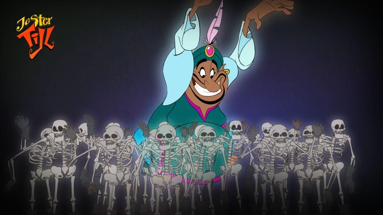 Um seinen Großvater Marcus zu retten, wagt sich Till mit seinen Freunden in die sogenannte Höhle der Toten. - Bildquelle: Capella Films International