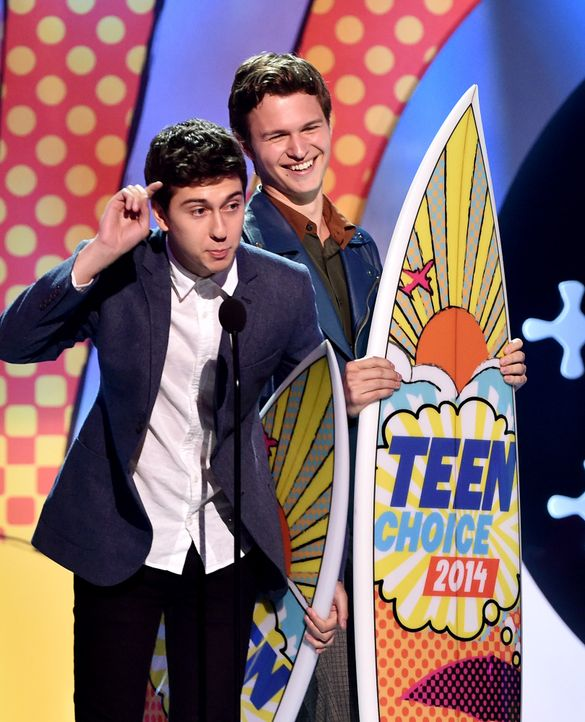 Teen-Choice-Awards-Nat-Wolff-Ansel-Elgort-140810-getty-AFP - Bildquelle: getty-AFP