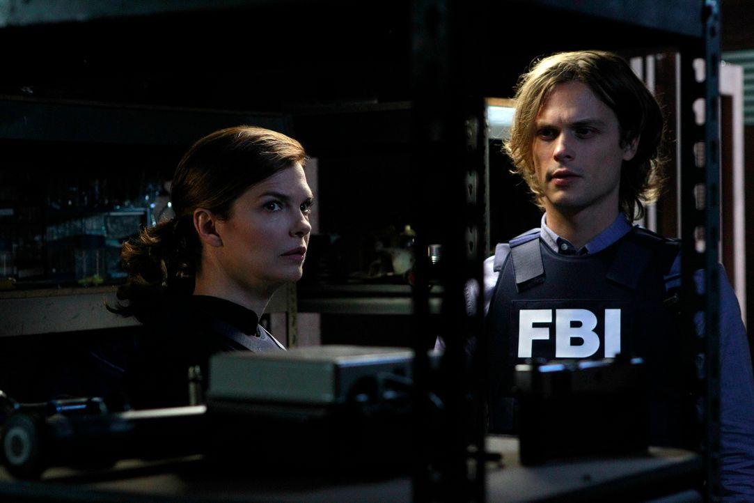 Versuchen, einen neuen Fall zu lösen: Alex (Jeanne Tripplehorn, l.) und Reid (Matthew Gray Gubler, r.) ... - Bildquelle: ABC Studios