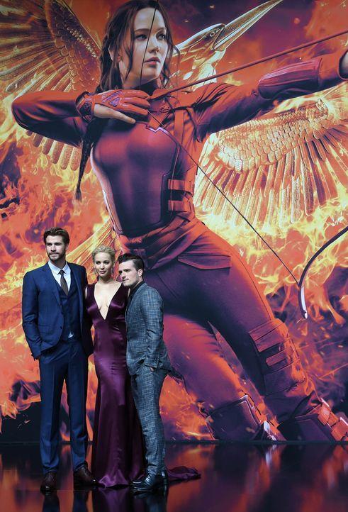 Premiere-Mockingjay-Liam-Hemsworth-Jennifer-Lawrence-Josh-Hutcherson-15-11-04-1-dpa - Bildquelle: dpa
