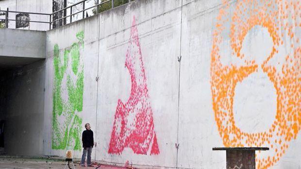 Graffiti-Roboter