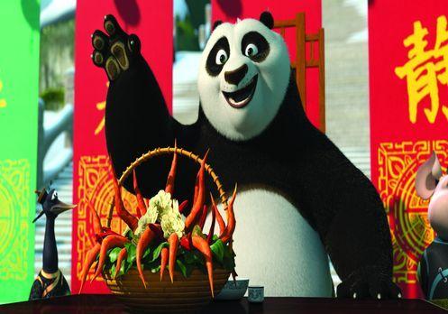Kung Fu Panda: Ein schlagfertiges Winterfest - Für das große Festessen soll P...