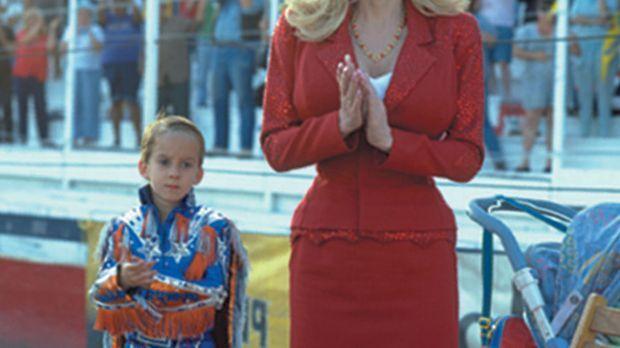 Eines Tages müssen der kleinen Frank (Sawyer Sweeten, l.) und seine Mutter (D...