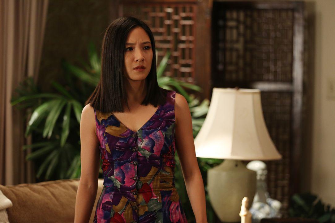 Jessicas (Constance Wu) Exfreund Oscar aus der Uni taucht auf. Wird dies Probleme in der Familie geben? - Bildquelle: John Fleenor 2015 American Broadcasting Companies. All rights reserved.