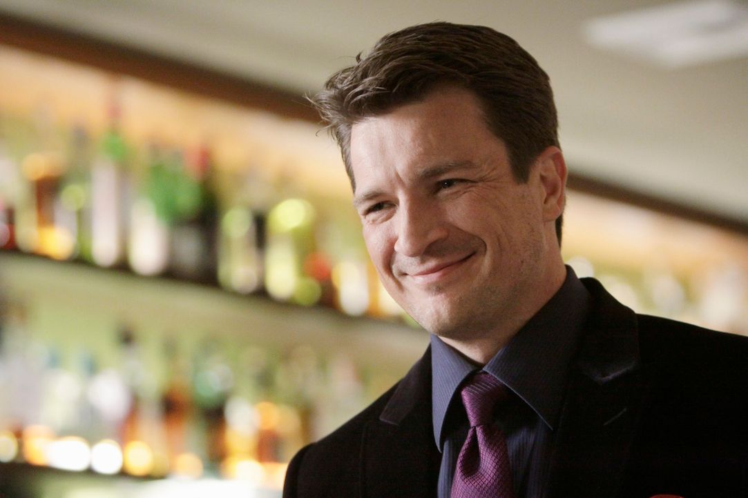 Richard Castle (Nathan Fillion) hat ein Date mit der attraktiven Amanda Livingston ... - Bildquelle: ABC Studios