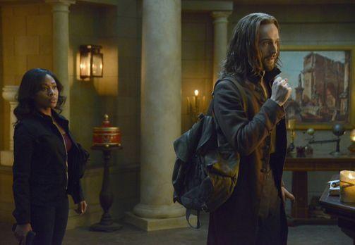 Sleepy Hollow - Auf der Jagd nach dem Bösen haben Abbie (Nicole Beharie, l.)...
