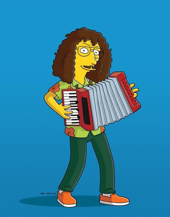 Homer gründet eine Grundge-Band, sie so bekannt wird, dass sogar Weird Al Yankovic (Bild) eine Parodie von einem seiner Songs schreibt ... - Bildquelle: und TM Twentieth Century Fox Film Corporation - Alle Rechte vorbehalten