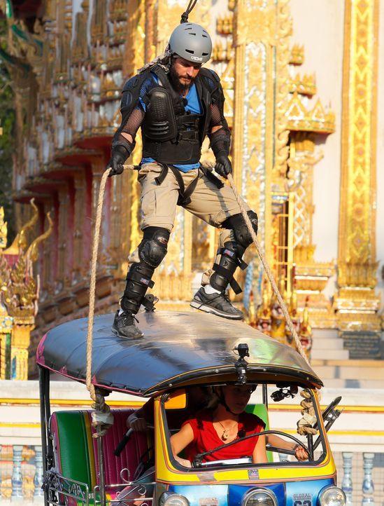 Global Gladiators Manuel Cortez (6) - Bildquelle: ProSieben/Richard Hübner