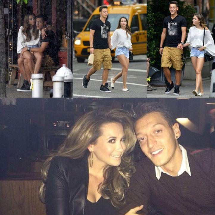 Spielerfrauen WM 2014: Mandy Capristo - Bildquelle: Facebook/Mandy Capristo & Mesut Özil