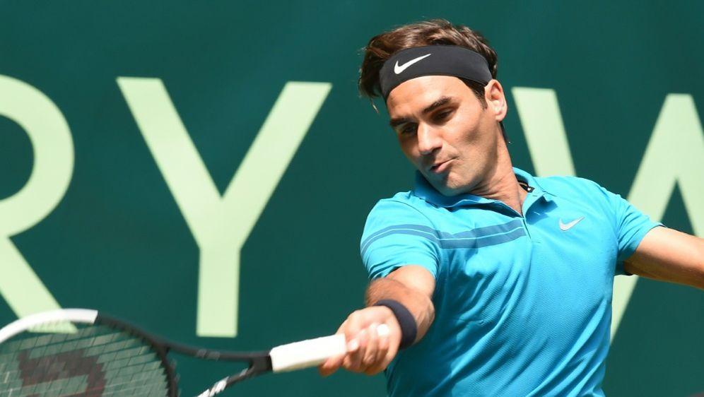 Roger Federer bezwang Matthew Ebden nach drei Sätzen - Bildquelle: AFPSIDCARMEN JASPERSEN