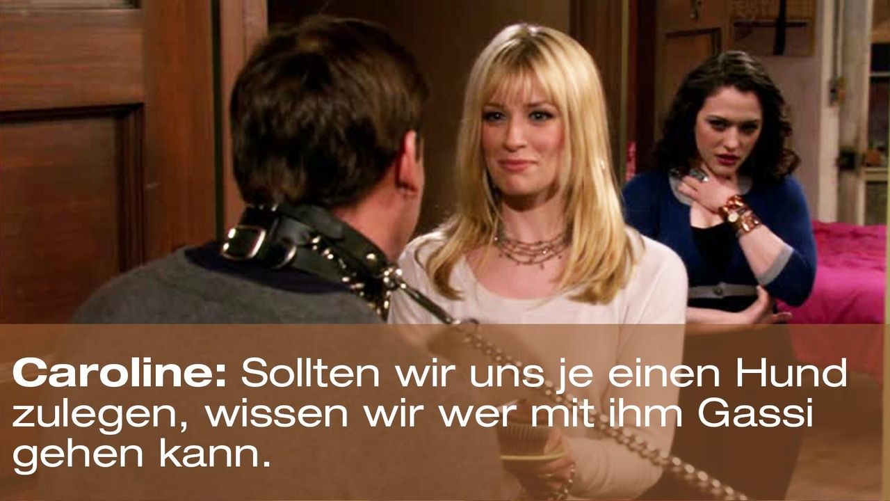 2-broke-girls-zitat-episode-15-staffel-1-unbekannte-nachbar-caroline-gassi-warnerpng 1600 x 900 - Bildquelle: Warner Brothers Entertainment Inc.