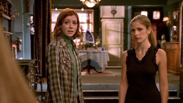 Seit Dawn von Glory entführt worden ist, befindet Buffy (Sarah Michelle Gella...
