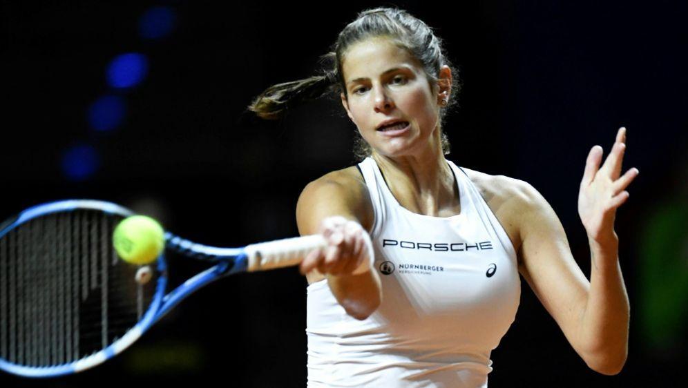 WTA: Julia Görges in Rom nocht dabei - Bildquelle: AFPSIDTHOMAS KIENZLE