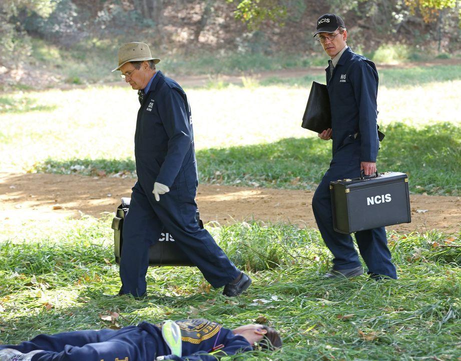 Ein neuer Fall wartet auf Ducky (David McCallum, l.) und Jimmy (Brian Dietzen, r.) ... - Bildquelle: CBS Television