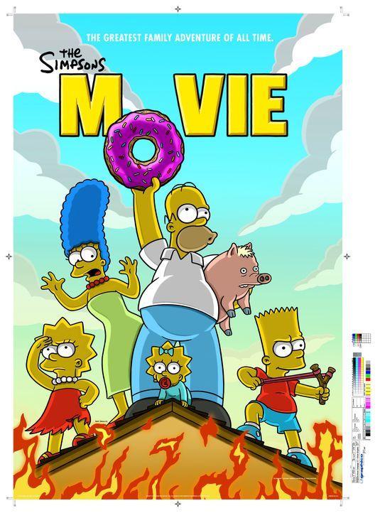 Die Simpsons - Der Film - Plaktmotiv - Bildquelle: 2007 Twentieth Century Fox Film Corporation