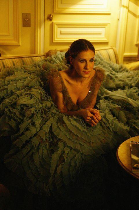 Miranda bittet Big, Carrie (Sarah Jessica Parker) aus Paris zurückzuholen ... - Bildquelle: Paramount Pictures