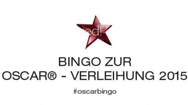 Oscar Bingo 2015