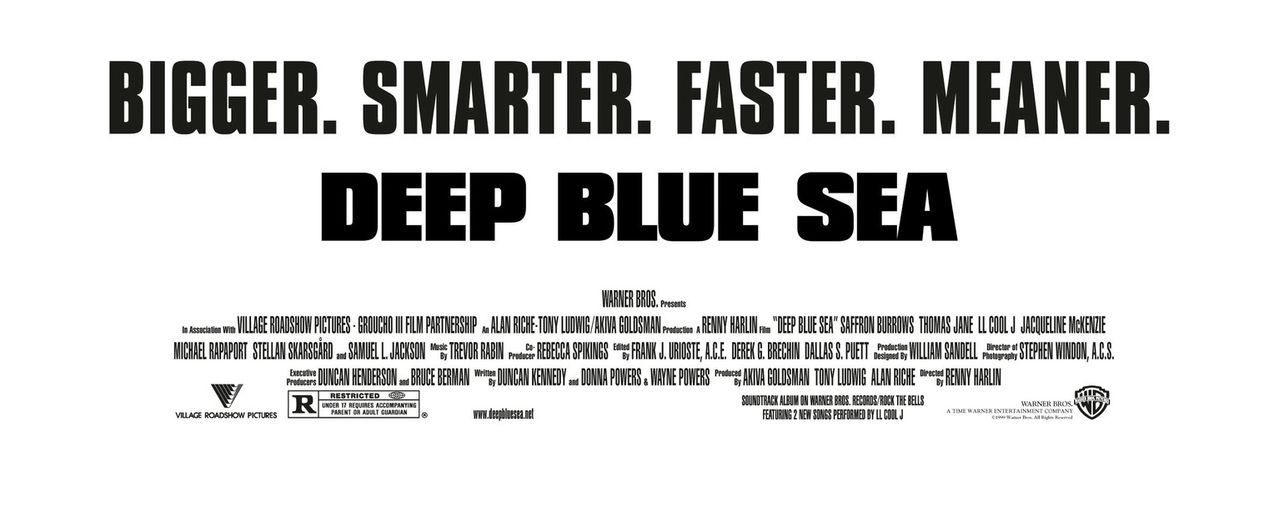 Deep Blue Sea - Credit Block - Bildquelle: Warner Bros. Pictures
