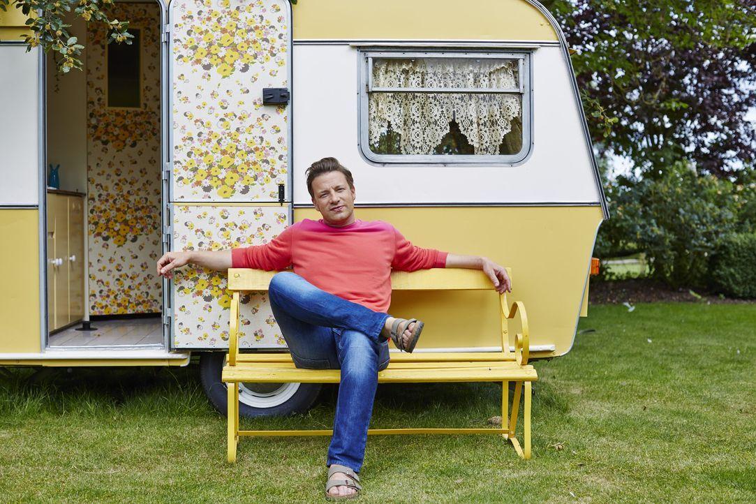 (1. Staffel) - In Jamie Olivers Wohlfühlküche geht es um Gerüche, Geräusche und Geschmäcker ... - Bildquelle: FRESH ONE PRODUCTIONS MMXIV