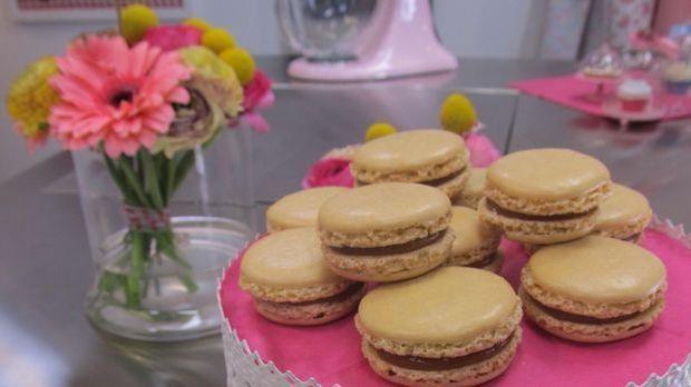 Macarons mit Karamell und Fleur de Sel