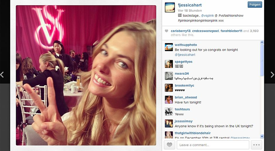 VS-Instagram-12-Instagram - Bildquelle: Instagram/Jessica Hart