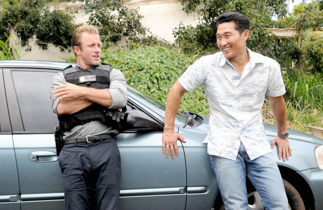 Ermitteln in einem neuen Fall: Danny (Scott Caan, l.) und Chin (Daniel Dae Kim, r.) ... - Bildquelle: 2013 CBS BROADCASTING INC. All Rights Reserved.
