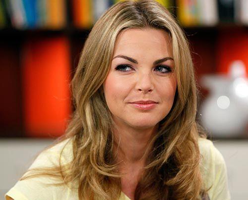Annika Kipp auf Studiobesuch im Frühstücksfernsehen. - Bildquelle: Ingo Gauss - Sat 1