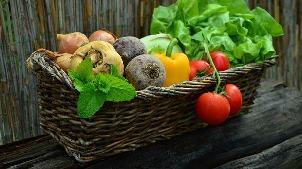 Gemüse im Juli