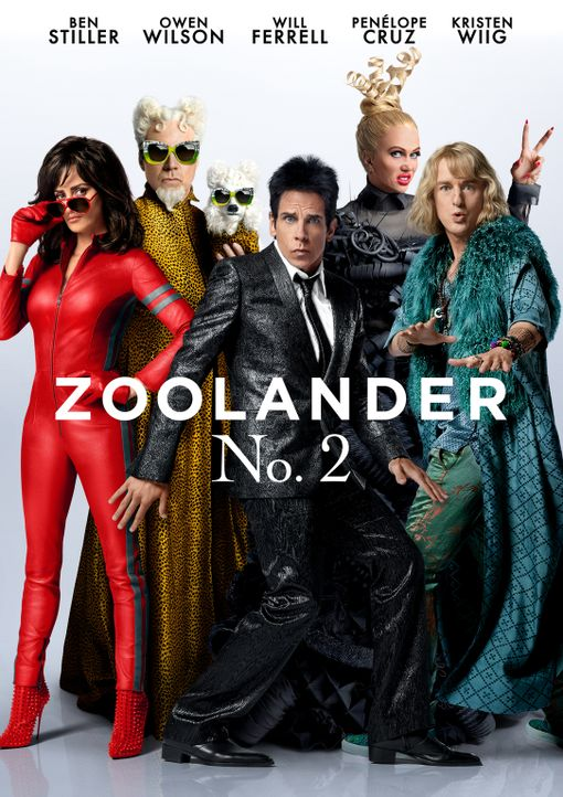 Zoolander No. 2 - Artwork - Bildquelle: 2016 Paramount Pictures