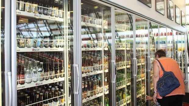 160 Millionen Amerikaner besuchen täglich einen Mini-Supermarkt - sogenannte...