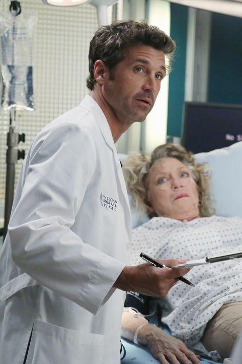 Die Ärzte haben alle Hände voll zu tun, die Schäden der vergangen Nacht zu beseitigen, aber auch Dereks (Patrick Dempsey, l.) Patientin Lydia Ashfor... - Bildquelle: ABC Studios
