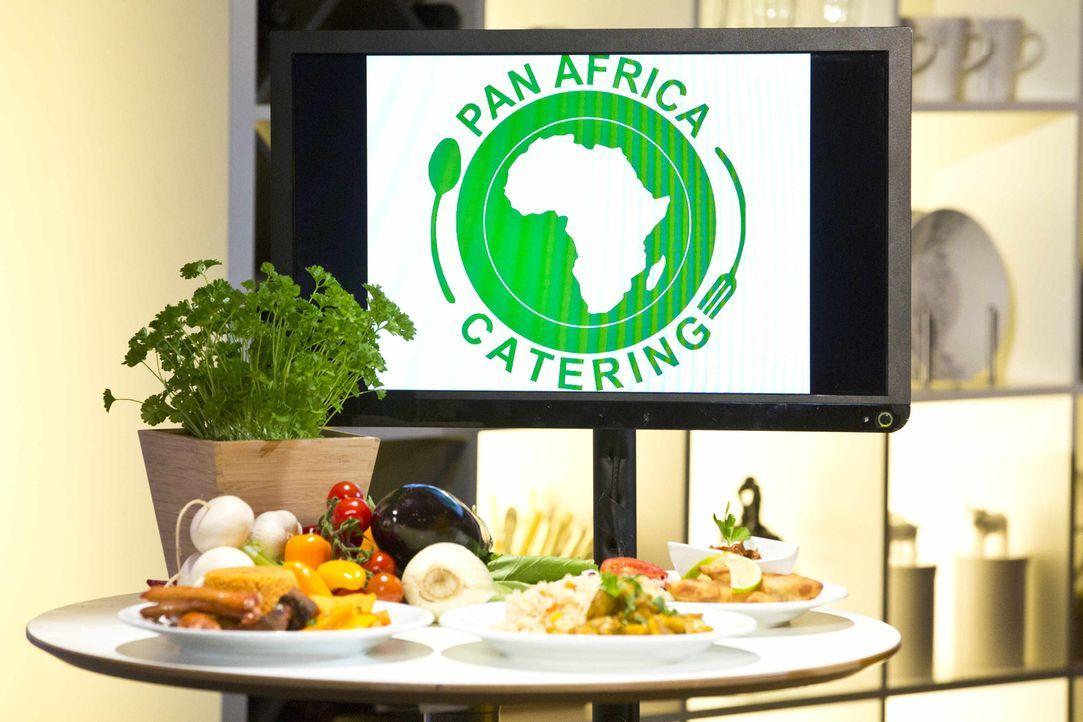"""Werden die Berliner Frank und Shodiya mit ihrem Konzept """"Pan Africa"""" die Gaumenfreuden der Investoren überzeugen können? - Bildquelle: Richard Hübner kabel eins"""