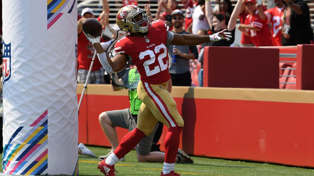 Matt Breida (San Francisco 49ers) - Bildquelle: 2018 Getty Images