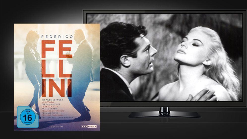 Federico Fellini Edition (Blu-ray Box) - Bildquelle: Arthaus