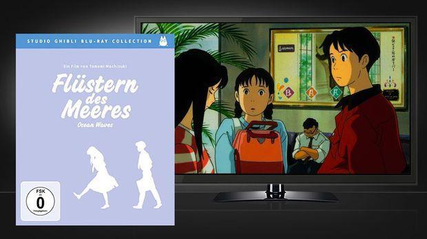 Flüstern des Meeres - Blu-ray Disc Cover und Szenenbild © Universum Film