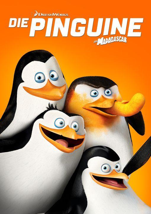 Die Pinguine aus Madagascar - Plakatmotiv - Bildquelle: 2014 DreamWorks Animation, L.L.C.  All rights reserved.