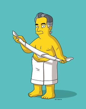 Die Simpsons - Homer macht Placido Domingo nach einem Sturz Konkurrenz ... -...