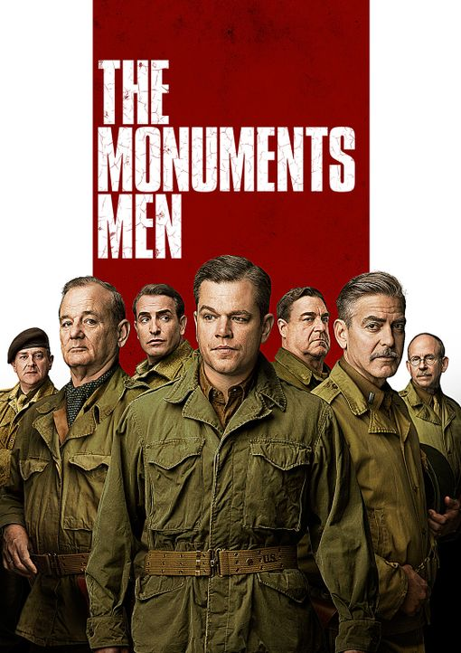 MONUMENTS MEN - UNGEWÖHNLICHE HELDEN - Artwork - Bildquelle: 2014 Columbia Pictures Industries, Inc. and Twentieth Century Fox Film Corporation.  All rights reserved.