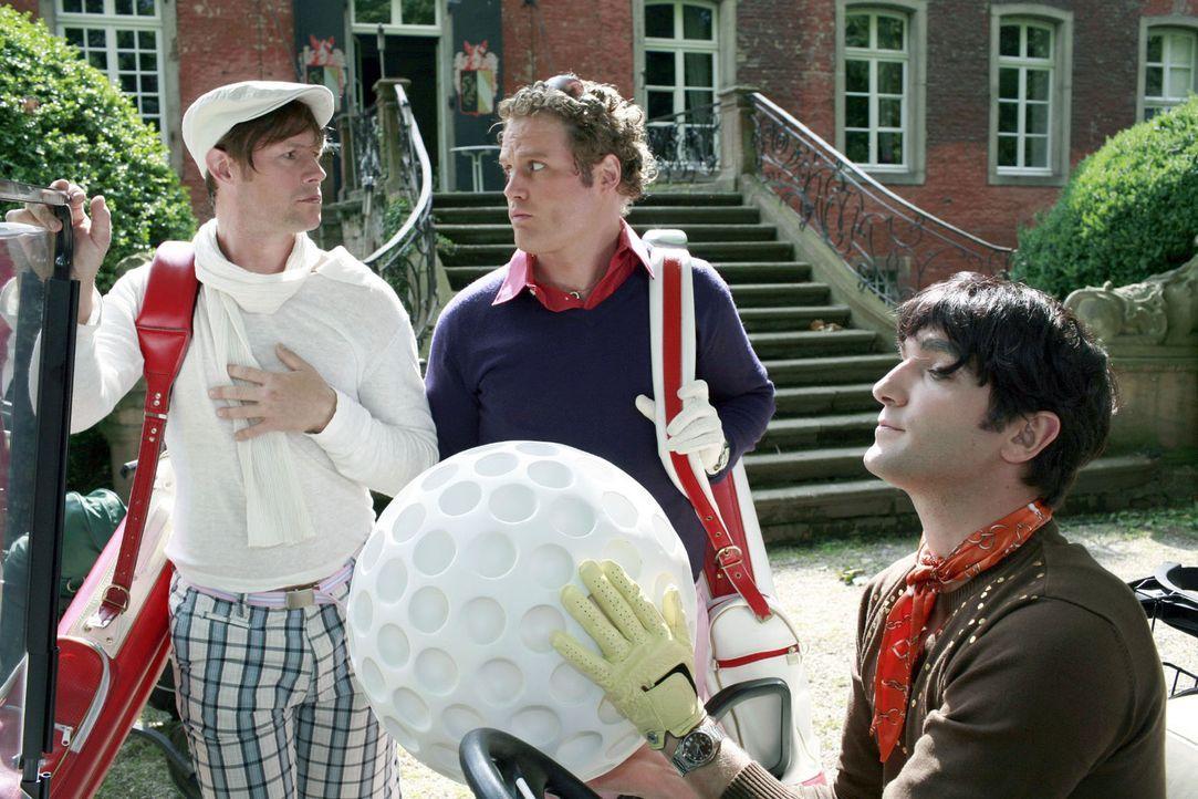 Was macht Golf eigentlich so teuer? Clubgebühren oder Trainerstunden - alles Peanuts: Die verlorenen Bälle sind die wirklichen Kosten! Wer kann es s... - Bildquelle: Guido Engels Sat.1