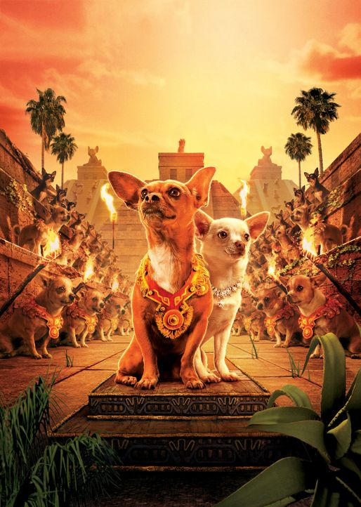 Erleben das Abenteuer ihres Lebens: Papi (M.l.) und Chloe (M.r.) ... - Bildquelle: Disney Enterprises, Inc.  All rights reserved