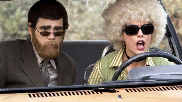 Dick und Jane - Nach ihrer Arbeitslosigkeit verlegen sich Dick (Jim Carrey, l...