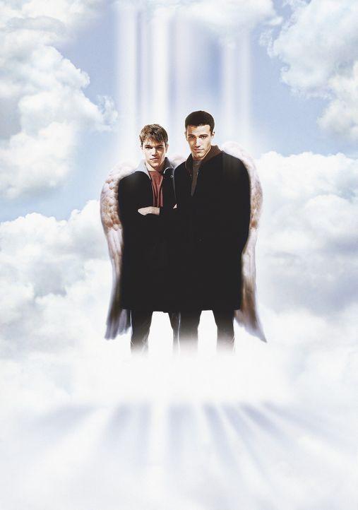 Vor einigen tausend Jahren wegen ungebührlichen Verhaltens aus den himmlischen Gefilden vertrieben, versuchen die Engel Bartleby (Ben Affleck, r.)... - Bildquelle: Kinowelt