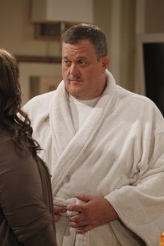 Mike & Molly - Mike (Billy Gardell, r.) und Molly (Melissa McCarthy, l.)...
